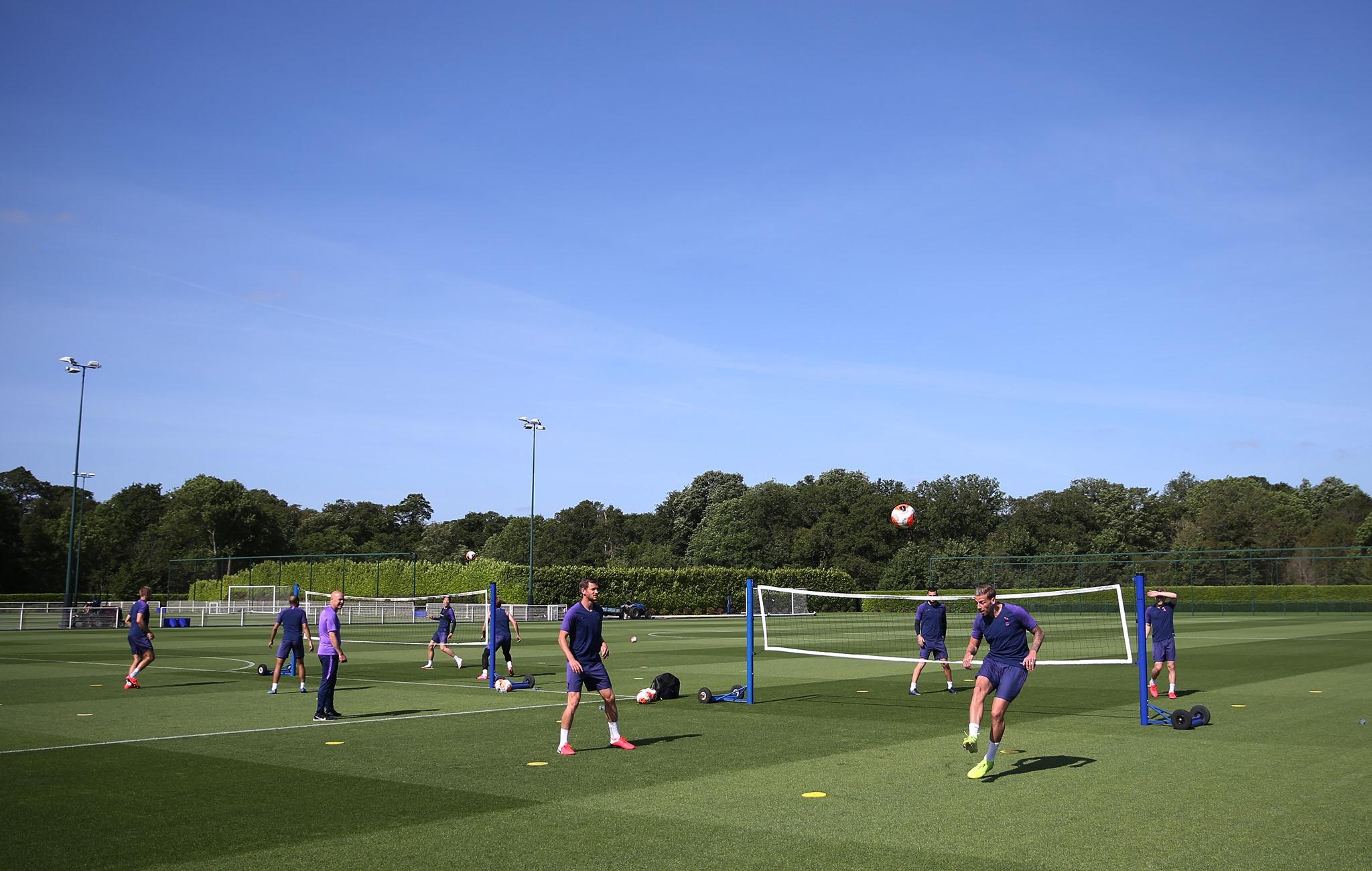 tréning Tottenham Hotspur