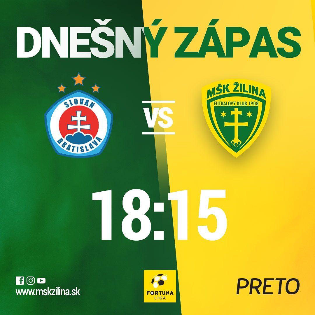 Dnešný zápas Žilina