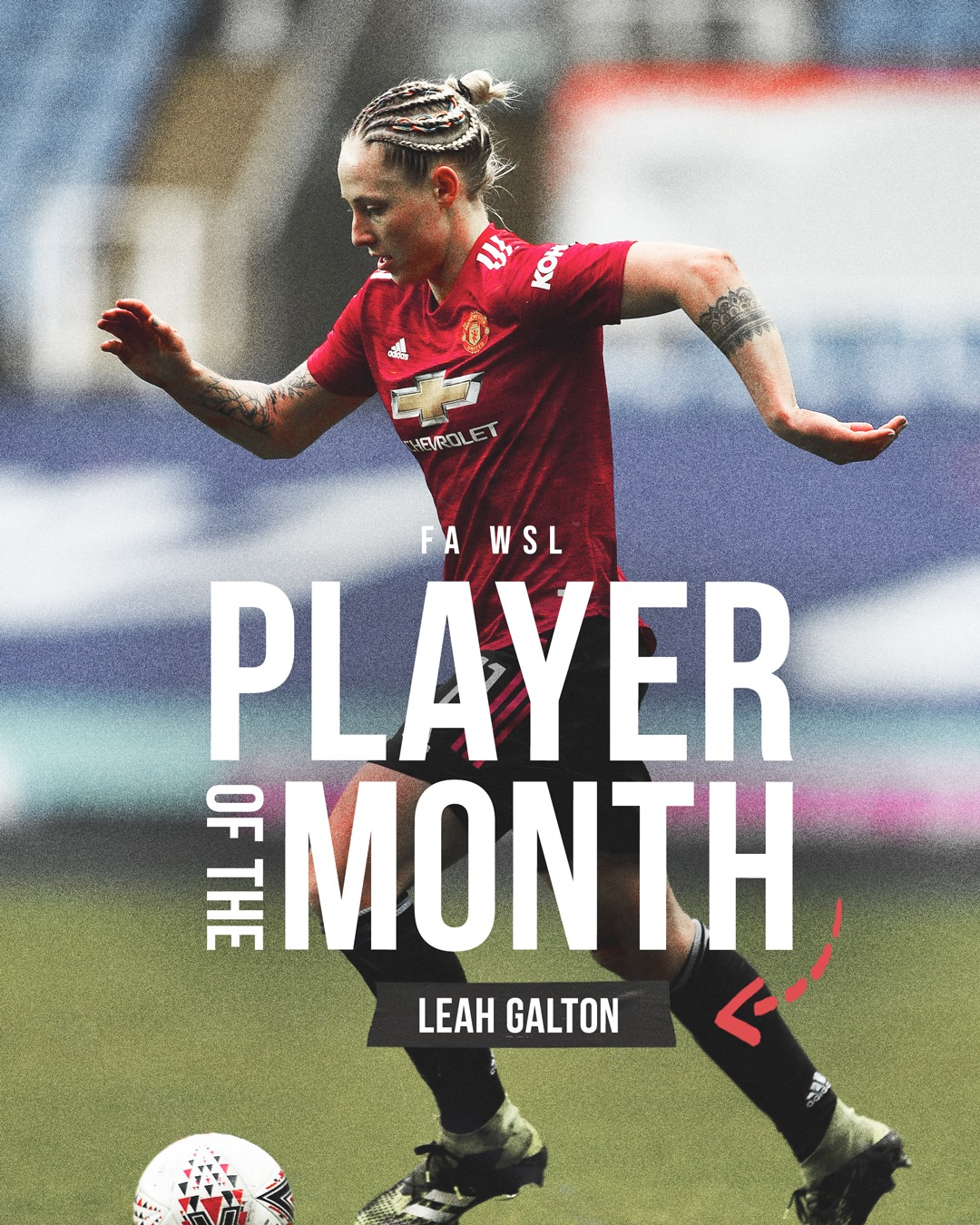 Player of the mont manutd