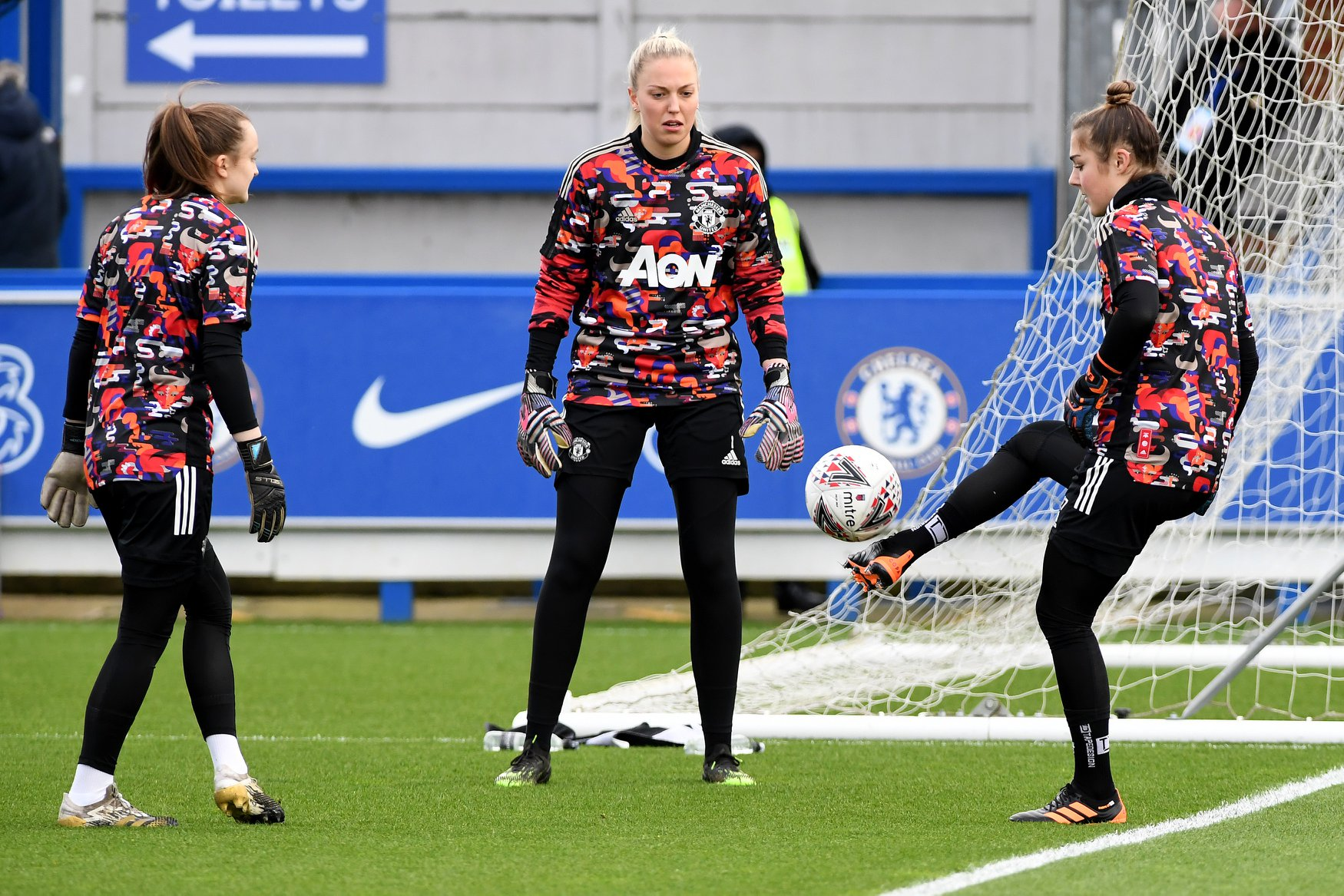 Tŕening Manchester united women