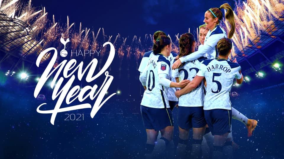 Tottenham women new year