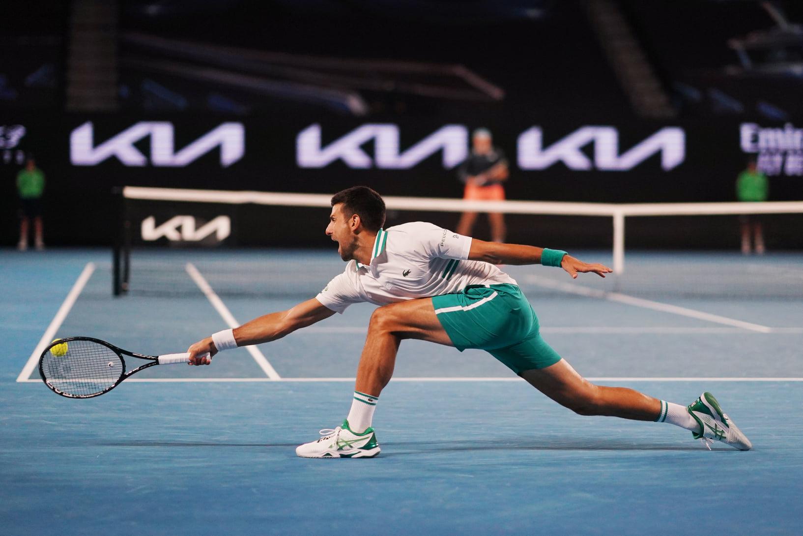 Sponzoring na Australian Open